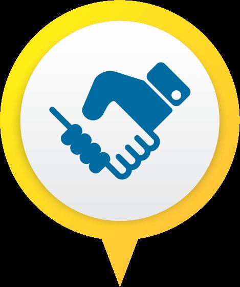 Conectar pessoas e negócios